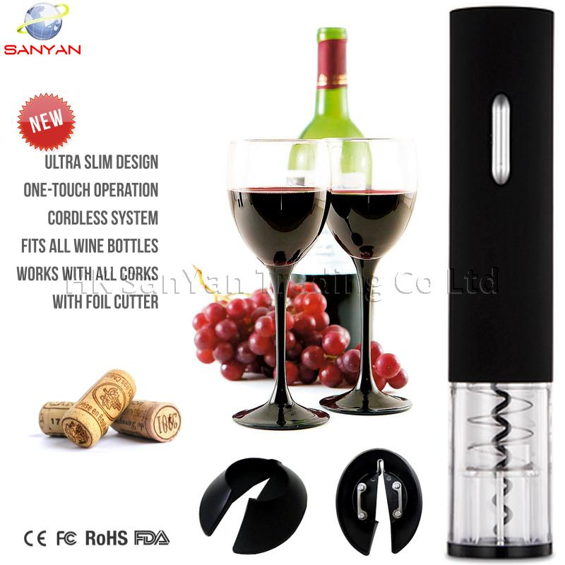 Battery Operated Electric Wine Opener SYKB1-0601