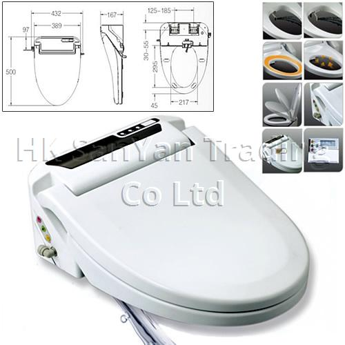 Electronic Bidet Toilet Seat with Remote Control SY-18A
