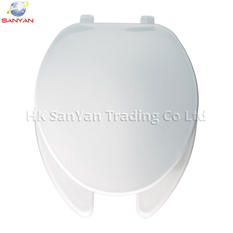 Elongated Open Front U-shape Toilet Seat with Cover SY0017