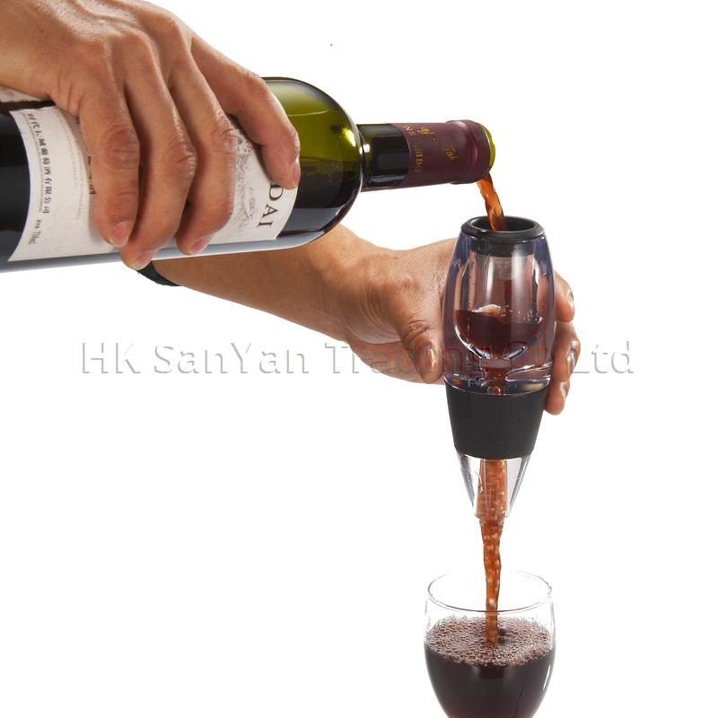 Quick Wine Aerator Pourer and Decanter Set