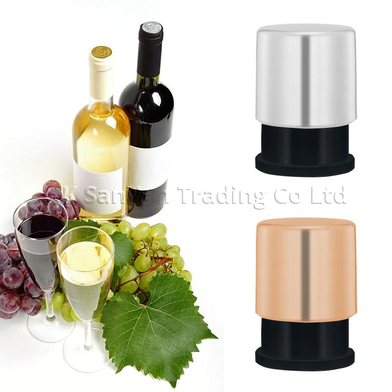 Coloured Wine Bottle Vacuum Sealer Stopper